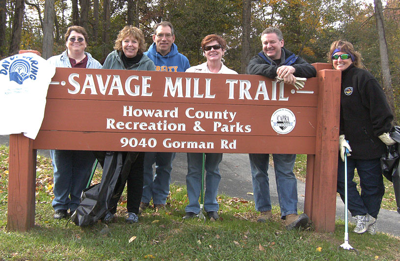 savage mill trail howard county maryland